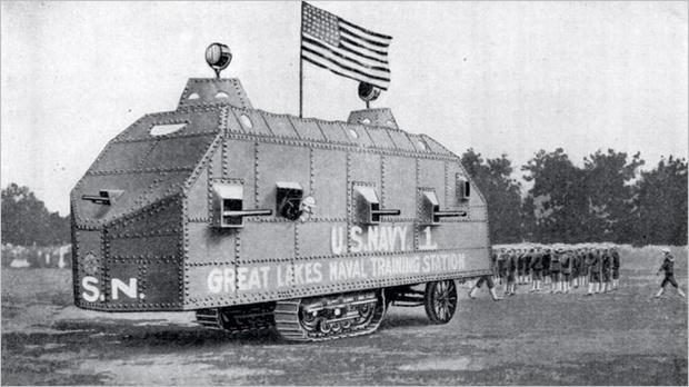 Фото №17 - Бесславные ублюдки: самые уродливые танки, созданные за всю историю вооружений
