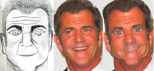 Фото №8 - Как бы выглядели знаменитости, если бы были похожи на портреты, нарисованные фанатами!