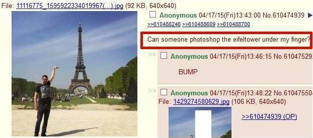 Вот почему никогда не стоит просить в Интернете отфотошопить твои отпускные фото!