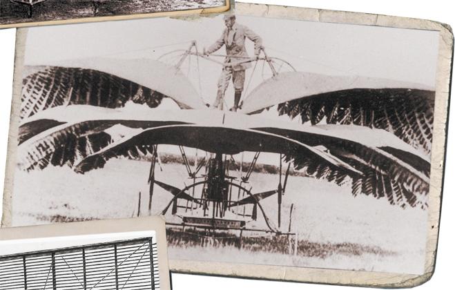 Летающий агрегат с машущими крыльями Фроста