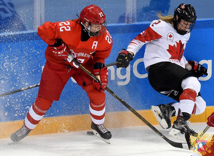 «Анне Шохиной чуть голову не отрубили клюшкой» Что за беспредел в матче с Канадой?