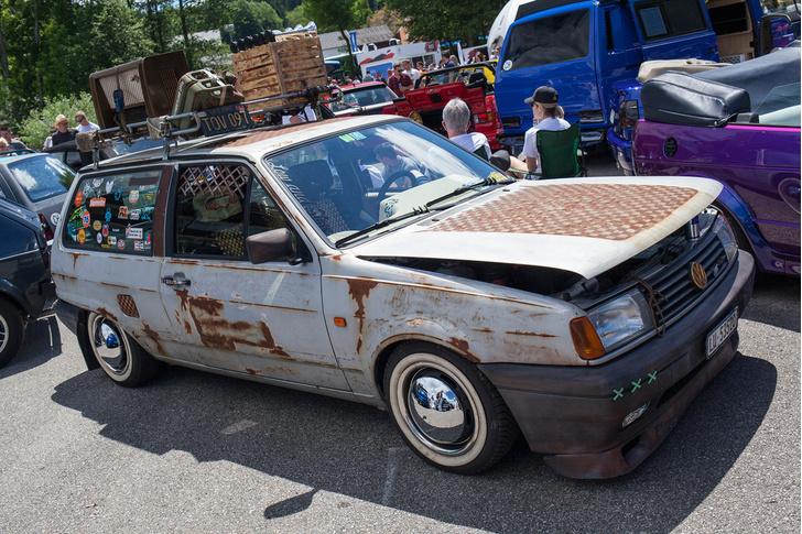 Фото №44 - Самые безумные машины фестиваля GTI Treffen