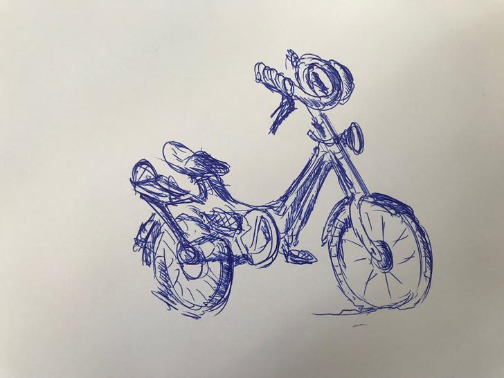 Фото №1 - Психолог из Казани предложил в Сети нарисовать велосипед. И был обвинен в сексизме