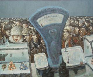 Смотри, как рисует советский быт этот художник!