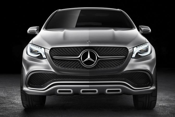 Фото №2 - Mercedes Concept Coupe SUV — автомобиль с нескромными габаритами
