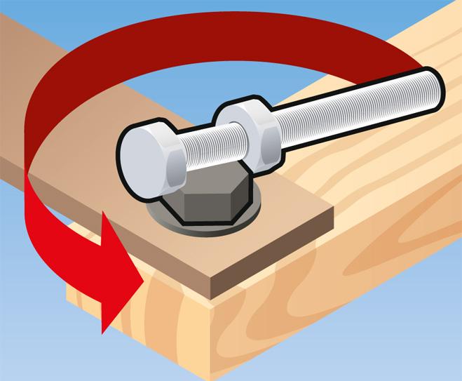 Фото №3 - Совет без слов: как открутить болт без ключа