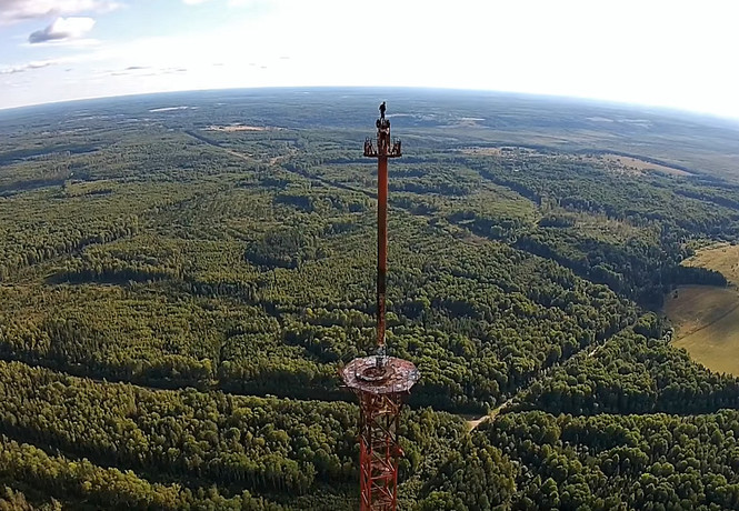 Вышку по прозвищу «Великая северная антенна» взорвали под Костромой! Видео!