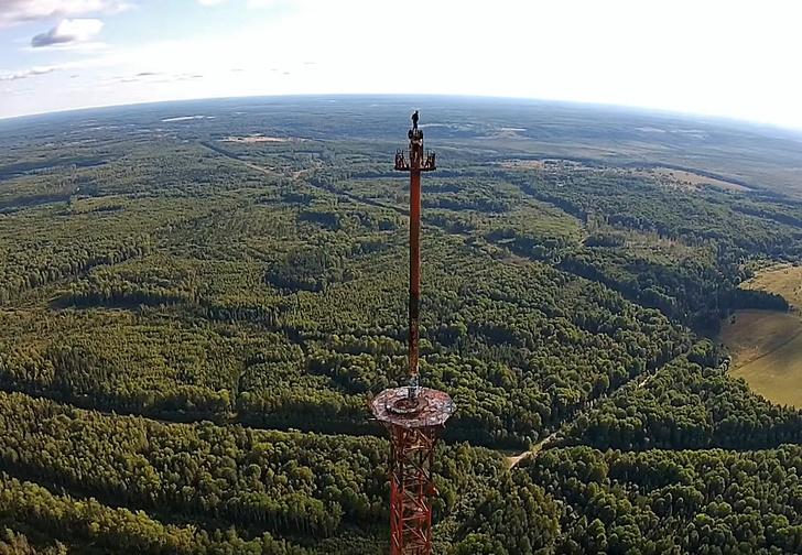 Фото №1 - Вышку по прозвищу «Великая северная антенна» взорвали под Костромой! Видео!