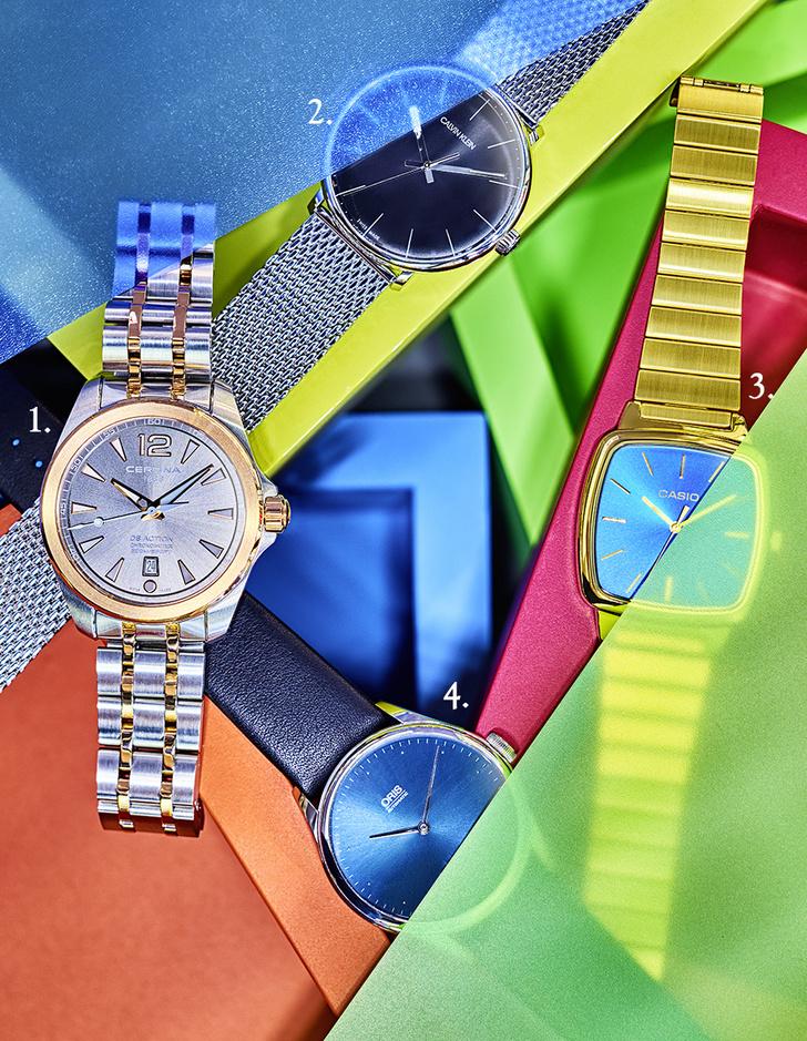 Фото №1 - Временной минимум: 5 наручных часов в стиле минимализм