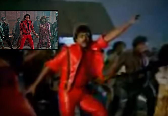 Фото №1 - Индийский Майкл Джексон отжигает при полной луне! Выдающийся ремейк клипа «Триллер»!