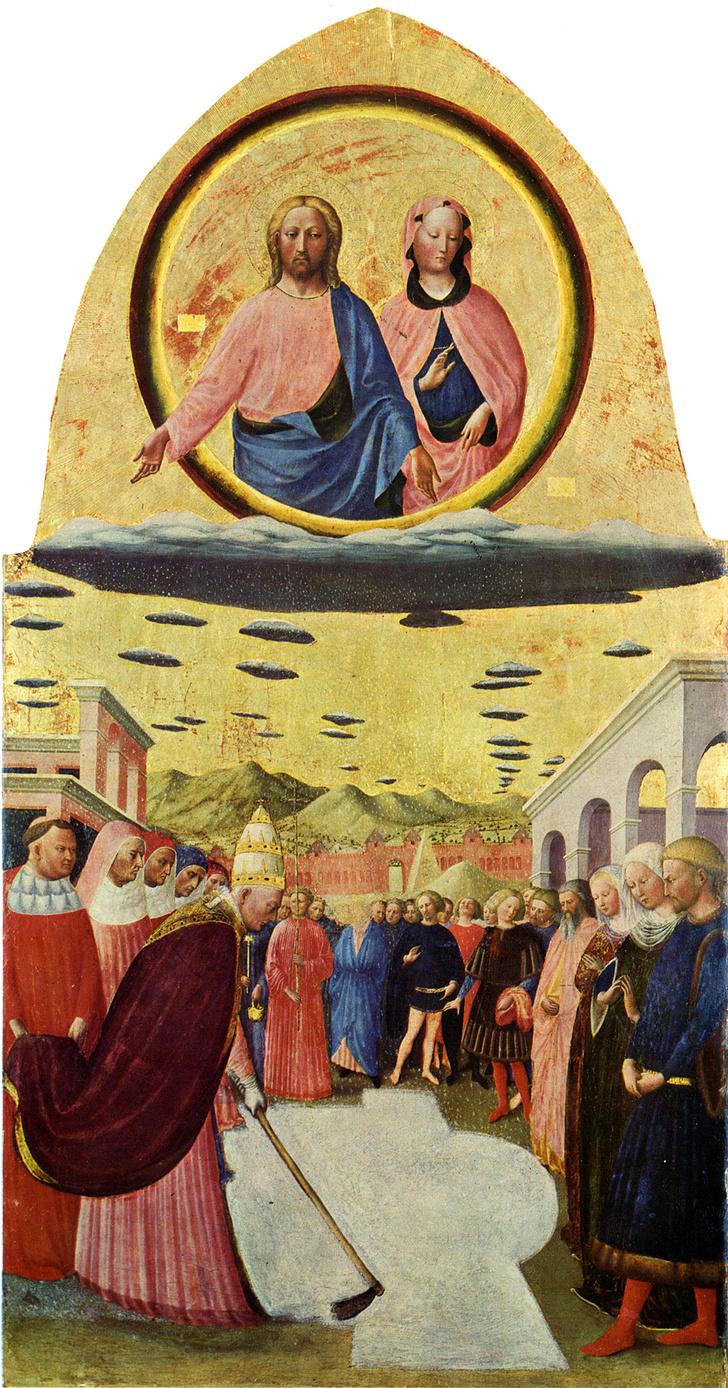 Фото №6 - 9 средневековых картин, на которых изображены НЛО