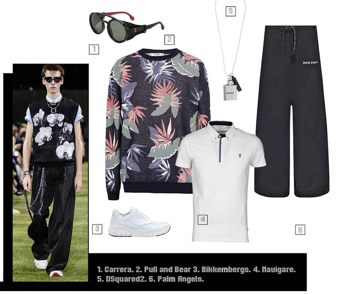 Фото №5 - Как носить растительный принт этим летом? Гид для настоящих мужиков!