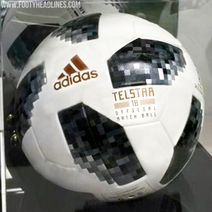 Фото №1 - Фото официального мяча ЧМ-2018 по футболу слили в Интернет!