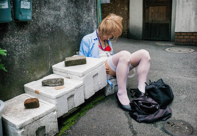 Как пьют в Японии: 18 красноречивых фотографий, после которых ты будешь считать японцев братским народом