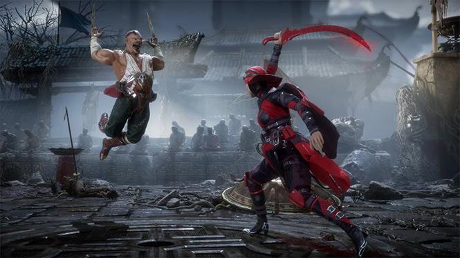 Фото №3 - Журналисты MAXIM были жестоко избиты в игре Mortal Kombat 11