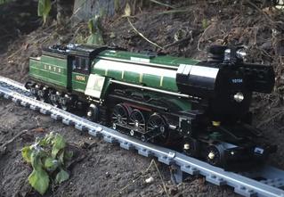 50 метров детского восторга: игрушечная железная дорога из Lego