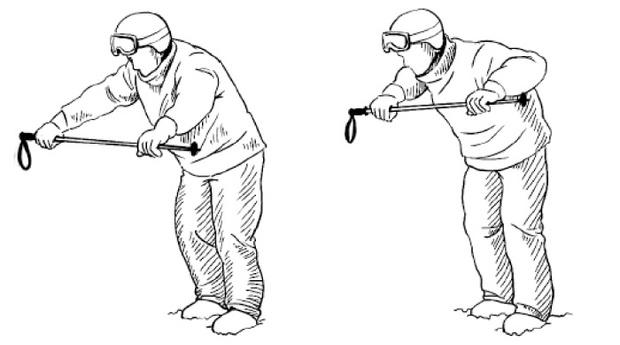 Фото №9 - Как правильно делать разминку лыжникам и сноубордистам