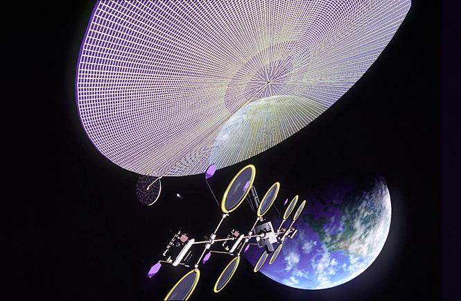 Проект космической энергостанции
