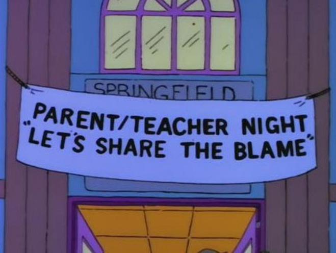 Школьное собрание