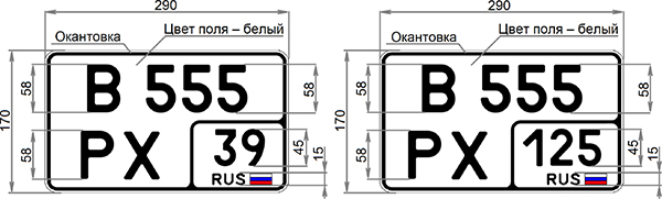 Фото №4 - В России появятся новые номерные знаки, и вот как они выглядят