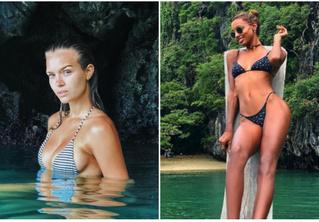 Посмотри, как модели Victoria's Secret отдыхают на пляже после горячего показа в Шанхае