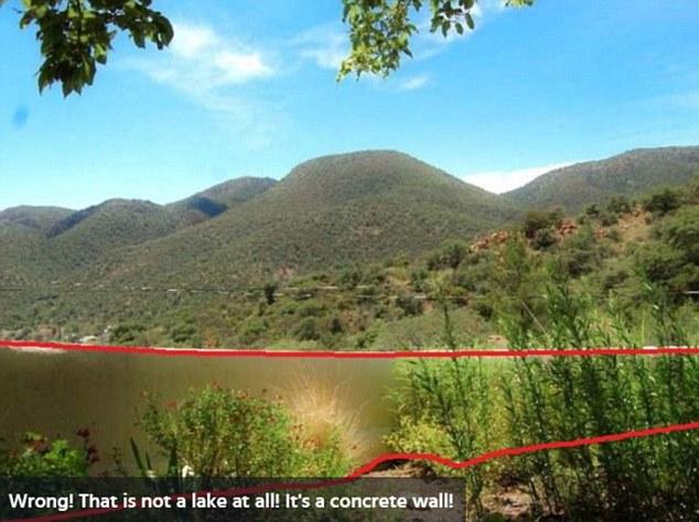 Фото №2 - Новая оптическая иллюзия: озеро или стена? Ответ внутри!