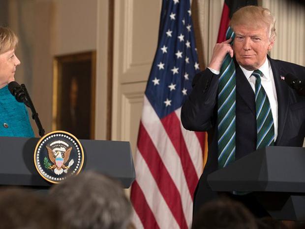 Фото №17 - Странная тенденция моды от Дональда Трампа — невероятно длинные галстуки!