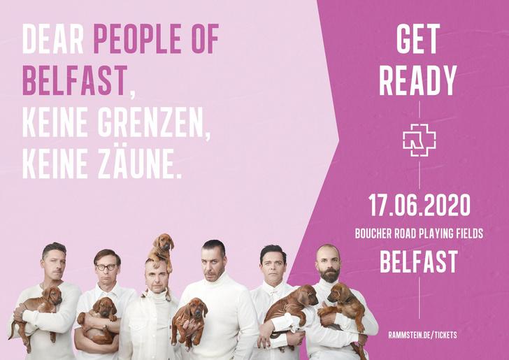 Фото №3 - Rammstein выложили ироничные плакаты к своему концертному туру