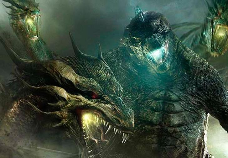 Фото №1 - Хтонический трейлер фильма «Годзилла-2: Король монстров»