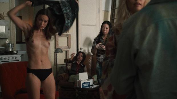 Фото №4 - Скромная Оливия Уайлд полностью обнажилась в сериале «Винил»