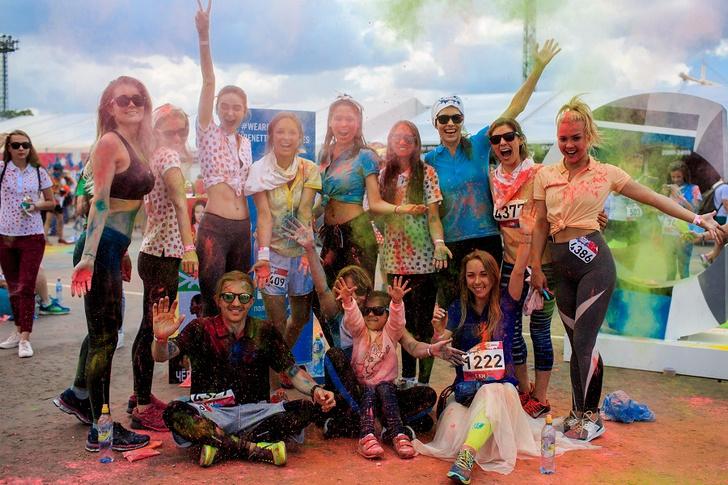 Фото №2 - COLORS DE BENETTON собирает всех на Красочный забег