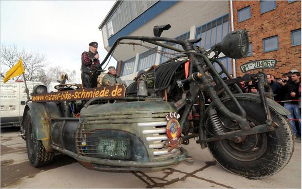 Самый тяжелый мотоцикл
