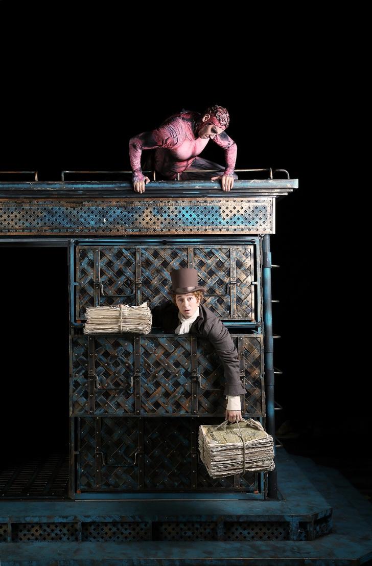 Фото №1 - Сумасшествие Поприщева на сцене Московского Губернского театра