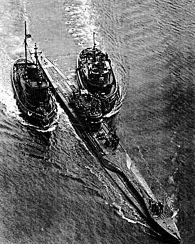 Фото №4 - Золотая подлодка: история Особой Императорской субмарины I-52