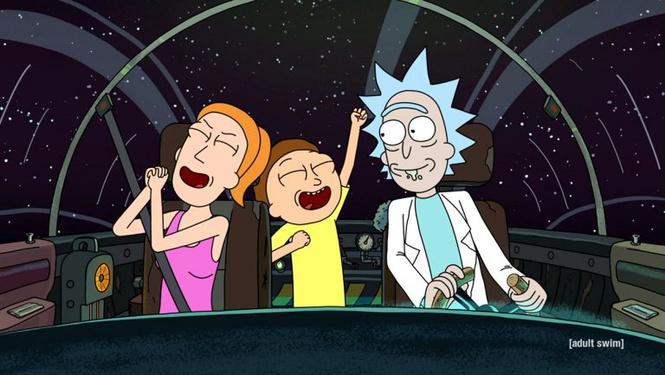 «Рика и Морти» продлили еще на 7 сезонов!