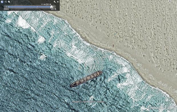 Фото №14 - 20 необычных мест, найденных на Google Earth