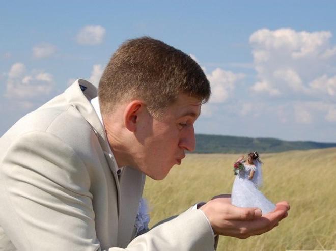 Фото №9 - 12 свадебных фотографий, которые не должны появиться в твоем альбоме!