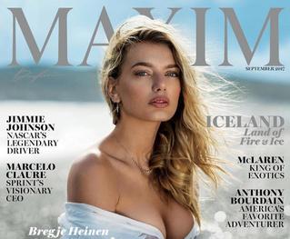Полюбуйся на фотографии красавицы с обложки сентябрьского номера американского MAXIM