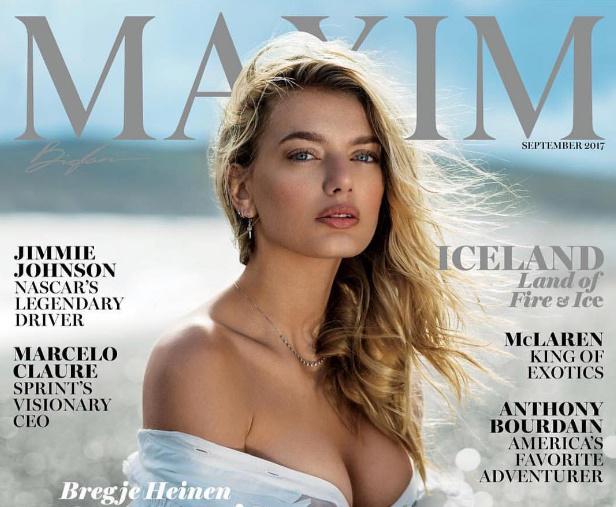 полюбуйся фотографии красавицы обложки сентябрьского номера американского maxim