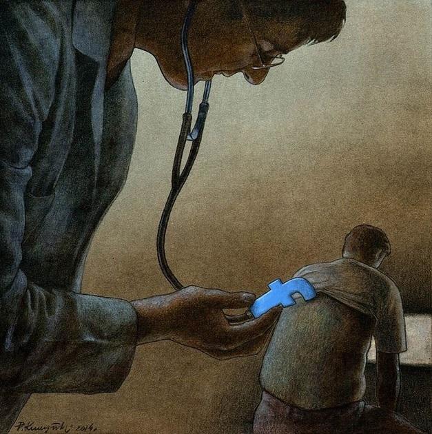 Фото №3 - Вся правда о «Фейсбуке» от карикатуриста Павла Кучински
