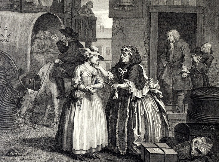 Фото №3 - Изысканная реклама проституток XVIII века