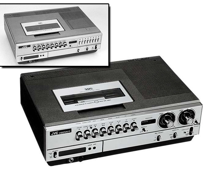 60+ фотографий самых крутых видеомагнитофонов прошлого века!