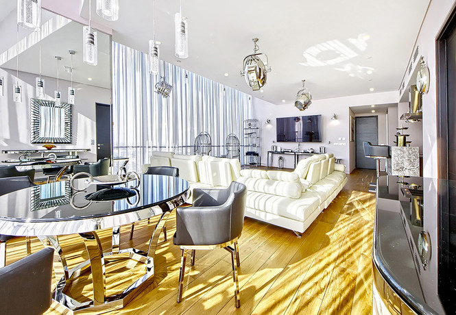 Апартаменты Sky Grand Loft: седьмое небо на 64-м этаже