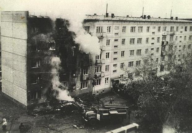 Фото №1 - 44 года со дня тарана самолетом дома в Новосибирске