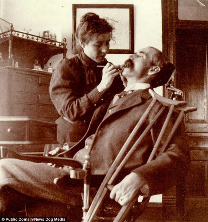 Фото №10 - Ужасы викторианской стоматологии: 13 фотографий без анестезии