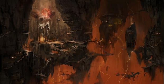 Фото №7 - Doom! Ад! Сатана! Дьявольски кровавые и эксклюзивные концепт-арты из грядущего игроужастика