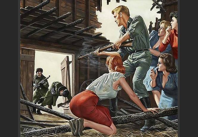 Фото №1 - Шедевры клюквы антисоветского плаката