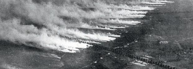 У французского города Ипр немцы впервые применили боеприпасы с «горчичным газом», позже получившим название «иприт». 1939