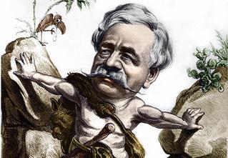 Потрясающая биография в картинках героя-авантюриста и каналокопателя
