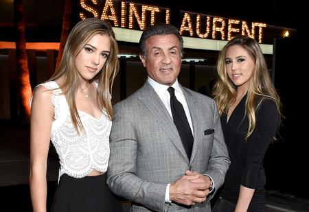 Круче Сильвестра Сталлоне могут быть только дочери-модели Сталлоне!